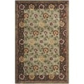 Contemporary Safavieh Handmade Newport Multi Wool Rug (9' x 12')
