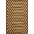 Safavieh Hand-hooked Newport Chocolate/ Ivory Cotton Rug (7'9 x 9'9)