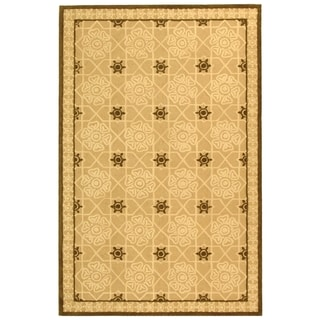 Safavieh Hand-hooked Newport Cream/ Ivory Cotton Rug (7'9 x 9'9)