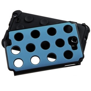 ASMYNA Blue/ Black Dots Case for Samsung Galaxy Note