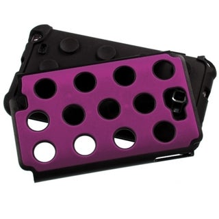 ASMYNA Hot Pink/ Black Dots Case for Samsung Galaxy Note 2 T879/ I717