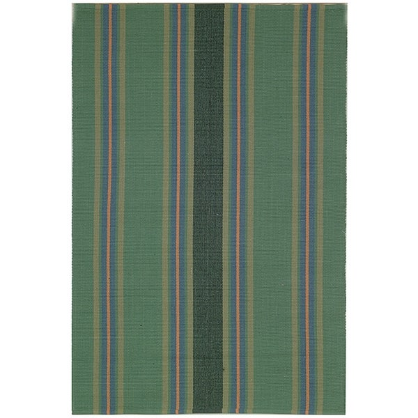 Safavieh Hand-woven Penfield Green/ Olive Cotton Rug (8' x 10')