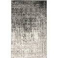 Safavieh Retro Black/ Grey Rug (8'9 x 12')