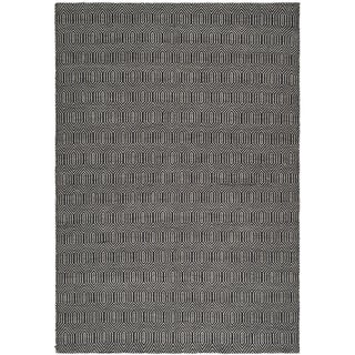 Safavieh Hand-woven South Hampton Black Rug (8'9 x 12')
