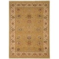 Safavieh Stately Home Gold/ Ivory New Zealand Wool Rug (4' x 6')