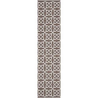 Thom Filicia Hand-woven Indoor/ Outdoor Saddle Rug (2' x 6')