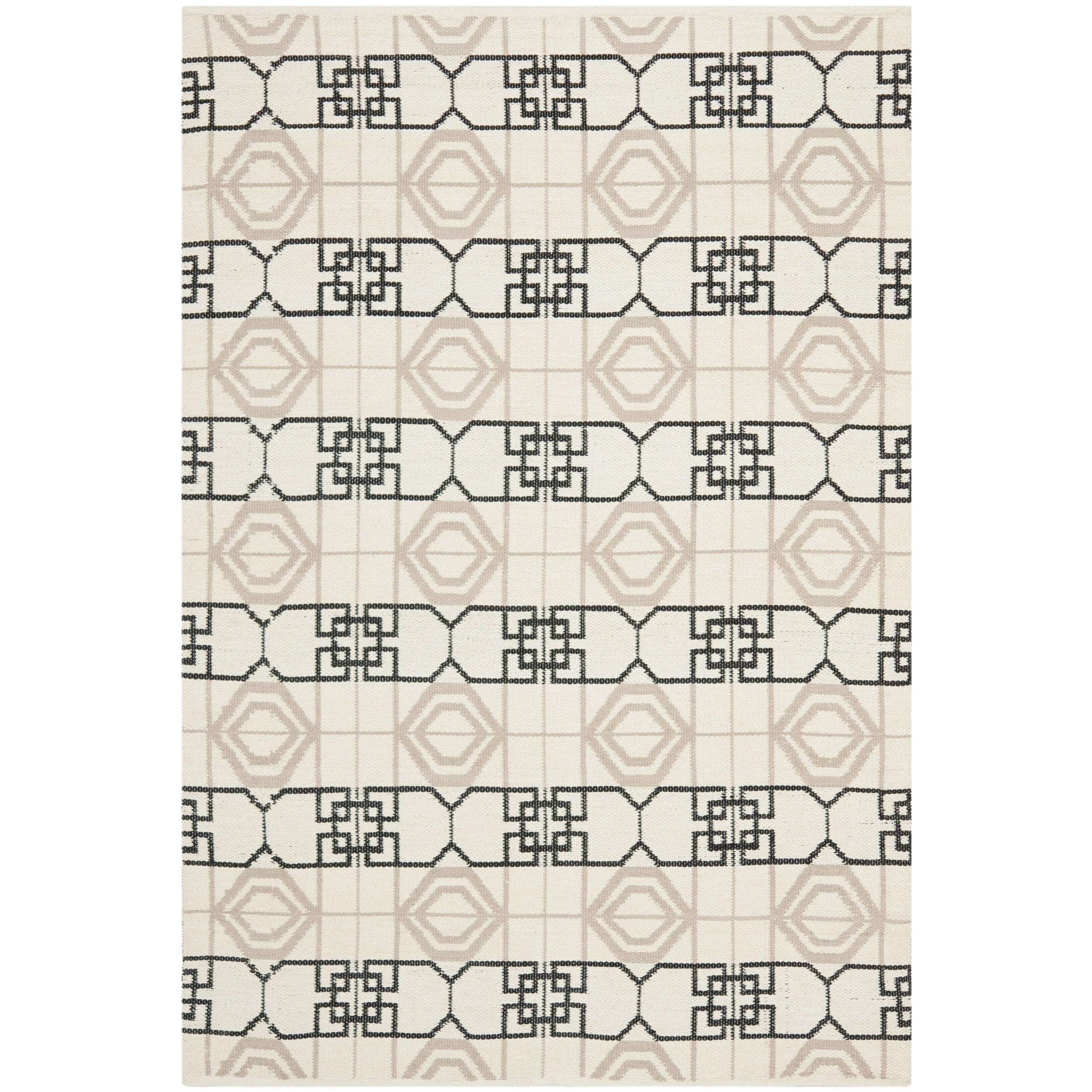 Safavieh Thom Filicia Hand-woven Indoor/ Outdoor Black/ Beige Rug (4' x 6') at Sears.com