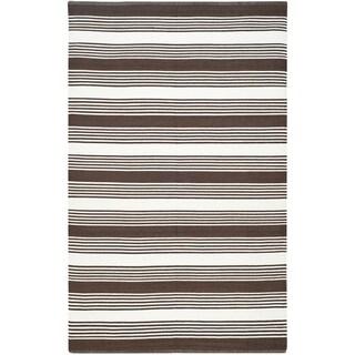 Thom Filicia Hand-woven Indoor/ Outdoor Brown Rug (3' x 5')