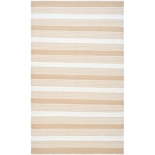 Thom Filicia Hand-woven Indoor/ Outdoor Beige Rug (3' x 5')