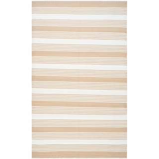 Thom Filicia Hand-woven Indoor/ Outdoor Beige Rug (6' x 9')