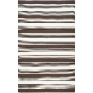 Thom Filicia Hand-woven Indoor/ Outdoor Brown Rug (8' x 10')