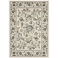 Safavieh Veranda Piled Indoor/ Outdoor Cream/ Green Rug (8' x 11'2)
