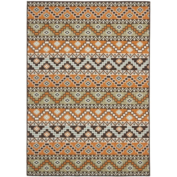 Safavieh Veranda Piled Indoor Outdoor Terracotta