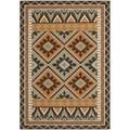 Safavieh Veranda Piled Indoor/Outdoor Green/Terracotta Area Rug (5'3