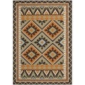 Safavieh Veranda Piled Indoor/Outdoor Green/Terracotta Area Rug (6'7