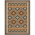 Safavieh Veranda Piled Indoor/Outdoor Green/Terracotta Area Rug (8' x 11'2)