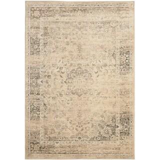 Safavieh Vintage Warm Beige Viscose Rug (5'3 x 7'6)