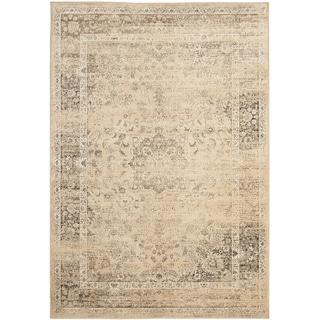 Safavieh Vintage Warm Beige Viscose Rug (8' x 11'2)