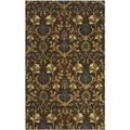 Safavieh Handmade Botanica Brown/ Multi Wool Rug (9' x 12')