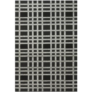 Safavieh York Charcoal/Black Rug (5'