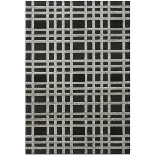 Safavieh York Charcoal/Black Rug (5'