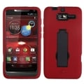 ASMYNA Black/ Red Symbiosis Cover for Motorola XT907 Droid Razr M