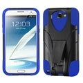 ASMYNA Blue Advanced Armor Stand Case for Samsung Galaxy Note 2 N7100