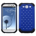 ASMYNA Blue/ Black TotalDefense Case for Samsung Galaxy S III/ S3