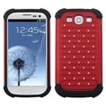 ASMYNA Red/ Black TotalDefense Case for Samsung Galaxy S III