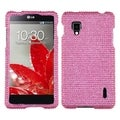 MYBAT Pink Diamante Cover Diamante 2.0 for LG LS970 Optimus G