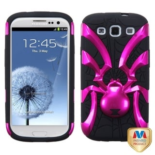 MYBAT Metallic Spiderbite Hybrid Phone Cover for Samsung� Galaxy S III