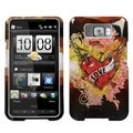 MYBAT Love Tattoo Phone Protector Cover for HTC HD2