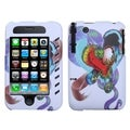 MYBAT Lizzo Snake Tattoo White Phone Case for Apple� iPhone 3GS/ 3G