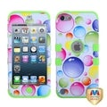 MYBAT Bubbles/ Green Hybrid Cover for Apple� iPod Touch Generation 5