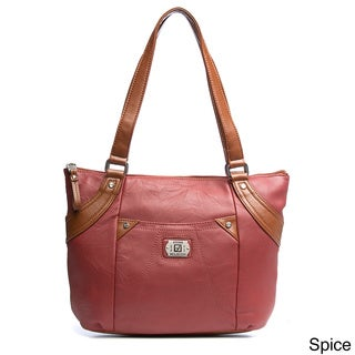 Stone Mountain 'Springfield' Leather Tote Bag