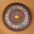 Handcrafted Ceramic 'Sunset' Cuzco Plate (Peru)