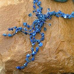 Handcrafted Lapis Lazuli 'Blue Garlands' Necklace (Thailand)