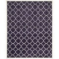 Safavieh Handmade Moroccan Chatham Purple Wool Area Rug (8' x 10')