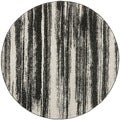Safavieh Retro Dark Grey/ Light Grey Rug (6' x 6' Round)