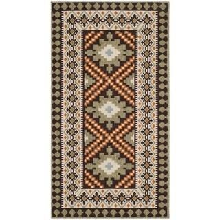 Safavieh Veranda Piled Indoor/ Outdoor Chocolate/ Terracotta Rug (2'7 x 5')
