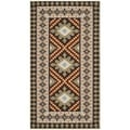 Safavieh Veranda Piled Indoor/ Outdoor Chocolate/ Terracotta Rug (2'7 x 5')