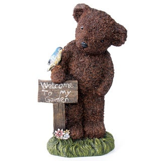 Kelkay Welcome Bear Decorative Accent