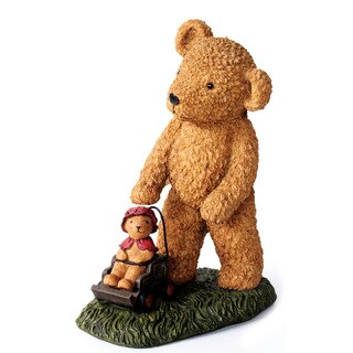 Kelkay Teddy and Baby Bear Decorative Accent