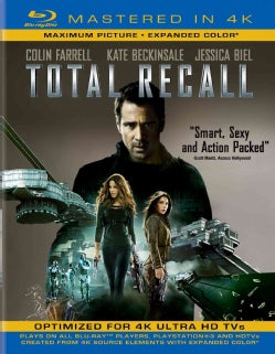 Total Recall (2012) (4K-Mastered) (Blu-ray Disc)
