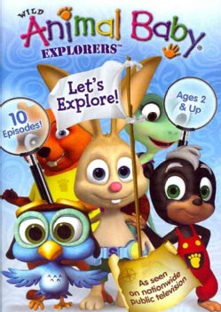 Wild Animal Baby Explorers: Let's Explore! (DVD)
