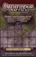Pathfinder Map Pack: Evil Ruins (Paperback)