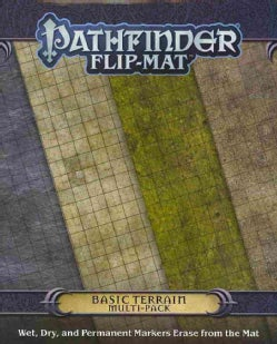 Pathfinder Flip-Mat: Basic Terrain Multi-pack (Novelty book)