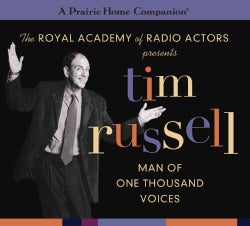 Tim Russell: Man of a Thousand Voices (A Prairie Home Companion) (CD-Audio)