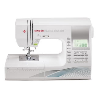 Singer Quantum Stylist 9960W 600-Stitch Sewing/ Quilting Machine (Refurbished)