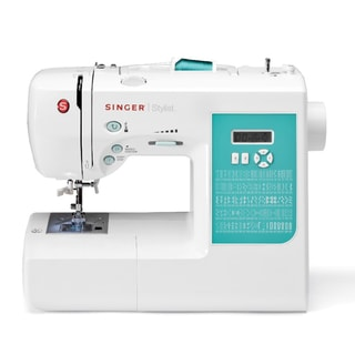 Singer 7258 Stylist 100-Stitch Electronic Sewing Machine (Refurbished)